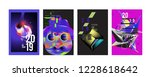 2019 new abstract poster... | Shutterstock .eps vector #1228618642
