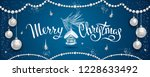 horizontal banner with elegant... | Shutterstock .eps vector #1228633492
