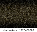 gold sparkles glitter dust... | Shutterstock .eps vector #1228633885