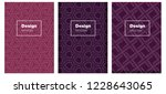 dark purple vector pattern for...