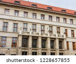 municipal library in prague.... | Shutterstock . vector #1228657855