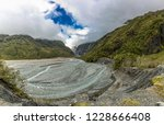 hiking to the franz josef... | Shutterstock . vector #1228666408