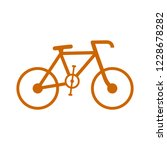 vector bicycle icon  vector... | Shutterstock .eps vector #1228678282