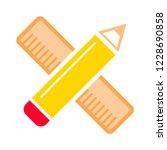 flat vector icon   illustration ... | Shutterstock .eps vector #1228690858
