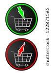 market symbols   Shutterstock .eps vector #122871562