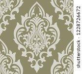 vector damask seamless pattern... | Shutterstock .eps vector #1228726672