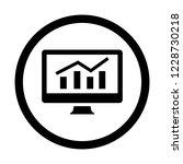 web analytics and market... | Shutterstock .eps vector #1228730218