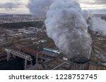 coal fossil fuel power plant... | Shutterstock . vector #1228752745