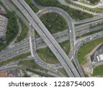 aerial drone photo of urban... | Shutterstock . vector #1228754005