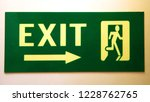 direction sign on the wall | Shutterstock . vector #1228762765