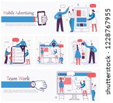 vector illustrations of the... | Shutterstock .eps vector #1228767955