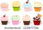 illustration of the 6 different ... | Shutterstock . vector #122877766
