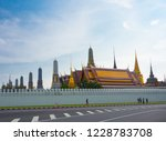 bangkok  thailand.   on october ... | Shutterstock . vector #1228783708
