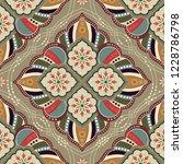 ornamental vector seamless... | Shutterstock .eps vector #1228786798