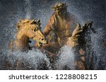 statue of apollo  his horses... | Shutterstock . vector #1228808215