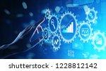 big data analysis  business... | Shutterstock . vector #1228812142