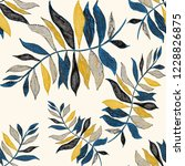 creative seamless pattern with...   Shutterstock . vector #1228826875