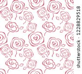 floral vector background.... | Shutterstock .eps vector #1228829518