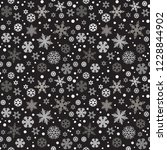 christmas seamless pattern with ... | Shutterstock .eps vector #1228844902