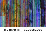 grunge style colorful painting... | Shutterstock . vector #1228852018