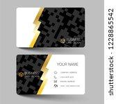 modern business card template... | Shutterstock .eps vector #1228865542