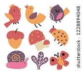 animals vector collection design | Shutterstock .eps vector #1228894048