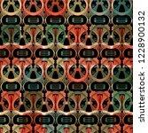 ornamental vector seamless... | Shutterstock .eps vector #1228900132