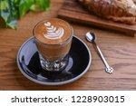 double espresso macchiato in...   Shutterstock . vector #1228903015