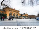 hannover  germany march 13 ... | Shutterstock . vector #1228909102
