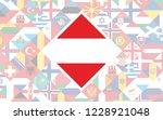 flag background of european... | Shutterstock .eps vector #1228921048