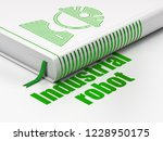 manufacuring concept  closed...   Shutterstock . vector #1228950175