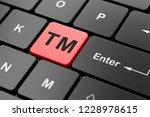 law concept  computer keyboard...   Shutterstock . vector #1228978615