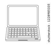 laptop computer technology | Shutterstock .eps vector #1228985335