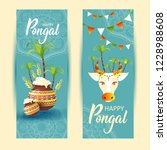 south indian festival pongal... | Shutterstock .eps vector #1228988608