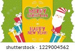 this is a bright congratulatory ... | Shutterstock .eps vector #1229004562