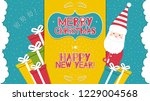 this is a bright congratulatory ... | Shutterstock .eps vector #1229004568