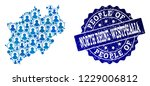 people combination of blue... | Shutterstock .eps vector #1229006812