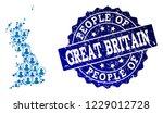 people combination of blue...   Shutterstock .eps vector #1229012728