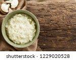 fresh homemade vegan... | Shutterstock . vector #1229020528