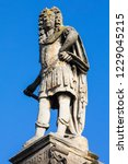 a statue of king charles ii on... | Shutterstock . vector #1229045215