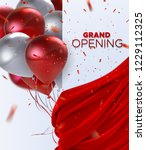 grand opening. business startup ... | Shutterstock .eps vector #1229112325