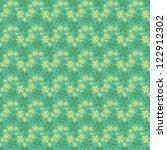 seamless flower pattern | Shutterstock . vector #122912302