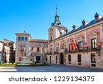 plaza de la villa square in... | Shutterstock . vector #1229134375