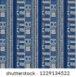 ethnic strip. tribal vector... | Shutterstock .eps vector #1229134522