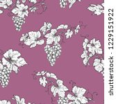seamless pattern made with... | Shutterstock .eps vector #1229151922