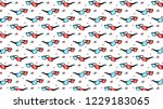 3d glasses with chromatic... | Shutterstock . vector #1229183065
