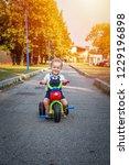 smiling children baby boy... | Shutterstock . vector #1229196898