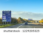 second severn crossing  wales   ... | Shutterstock . vector #1229205325