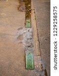 Drain In Low Area Of Concrete...