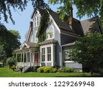 Victorian Style House With...